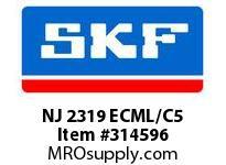 SKF-Bearing NJ 2319 ECML/C5