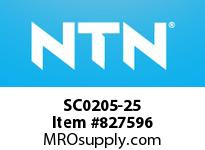 NTN SC0205-25 Bearing Units - Cast Covers