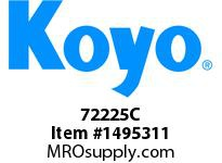 Koyo Bearing 72225C TAPERED ROLLER BEARING
