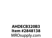 CPR-WDK AHDECB320B3 Switch Decorator 20A 3Way 347V B/Side BR