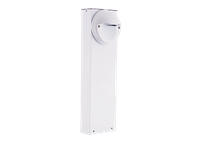 RAB BLEDR5-18W LED BOLLARD 18 5W COOL W/ ROUND SLED WHITE