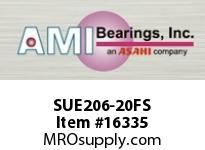 AMI SUE206-20FS 1-1/4 NORMAL WIDE CYL O.D. ACCU-LOC RING FREE SPINNING