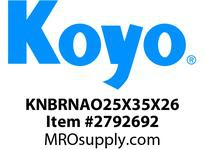 Koyo Bearing RNAO25X35X26 NEEDLE ROLLER BEARING
