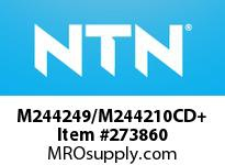 NTN M244249/M244210CD+ LARGE SIZE TAPERED ROLLER BRG