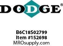 DODGE B6C18S02799 BB683 180-CC 27.99 1-5/8^ S SHFT