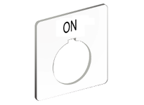 SquareD 9001KN103WP PUSH BUTTON LEGEND PLATE 30MM T-K 9001KN103WP PUSH BUTTON LEGEND PLATE 30MM T-K