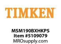 TIMKEN MSM190BXHKPS Split CRB Housed Unit Assembly
