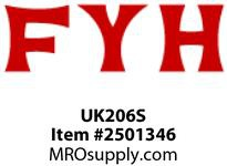 FYH UK206S NDSPECIAL TAPED BORE inCYLINDRICAL O.D.in