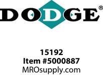 """DODGE 015192 RAPTOR 140HCB 8"""" COUPLINGS/FLEX CLUTCH"""
