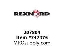 REXNORD 207804 19533 WBS LKNUT STL 125