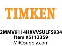 TIMKEN 2MMV9114HXVVSULFS934 Ball High Speed Super Precision