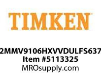 TIMKEN 2MMV9106HXVVDULFS637 Ball High Speed Super Precision