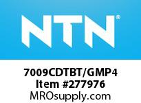 NTN 7009CDTBT/GMP4 PRECISION BALL BRG