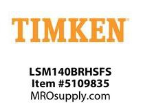 TIMKEN LSM140BRHSFS Split CRB Housed Unit Assembly