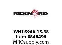 REXNORD WHT5966-15.88 WHT5966-15.875 WHT5966 15.875 INCH WIDE MATTOP CHA