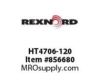 REXNORD HT4706-120 HT4706-120 HT4706 120 INCH WIDE MATTOP CHAIN W