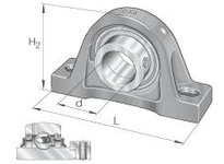 INA RASE1-1/8 Pillow block unit