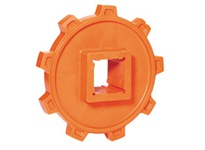 REXNORD 114-1599-1 HS5996-9T 2-1/2 SQ HS5996-9T SOLID SPROCKET WITH 2-1/2