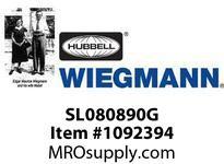 WIEGMANN SL080890G ELBOW90SWEEPN1GALV8X8