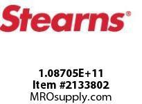 STEARNS 108704500016 BRK-ODD VOLTAGE 195VDC 125537