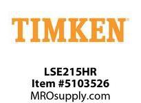 TIMKEN LSE215HR Split CRB Housed Unit Component