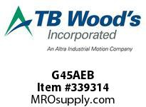TBWOODS G45AEB 4 1/2 EB ACCY KIT
