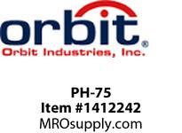 Orbit PH-75 PIPE HANGER WITHOUT BOLT #1 3/4^