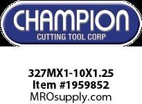 Champion 327MX1-10X1.25 CARBON METRIC ROUND DIE STK ADJ