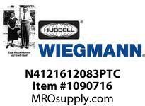 WIEGMANN N4121612083PTC N412SD16X12X8ULTIMATE 1PT. HANDLE