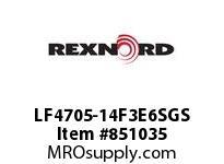 REXNORD LF4705-14F3E6SGS LF4705-14 F3 T6P S3 N2