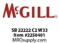 McGill SB 22222 C2 W33 SSB SERIES MH