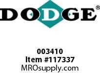 DODGE 003410 PX100 FBX 2-9/16 FLG ASSEMBLY