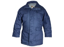 MCR PK3NX2 FR Moderate Climate Insulated Parka Modacrylic Quilted Lining Navy