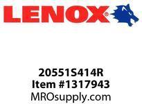 Lenox 20551S414R RECIPS-S414R 4 X3/4 X035X14 - 100X20X09X18