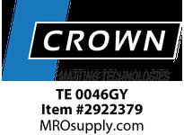 Crown TE 0046GY 225 - Tire-Track 4 x 6 Gray