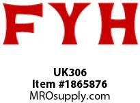 FYH UK306 INSERT BEARING HEAVY DUTY