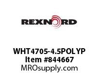 REXNORD WHT4705-4.5POLYP WHT4705-4.5 PP ROD WHT4705 4.5 INCH WIDE MATTOP CHAIN