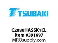 US Tsubaki C2080HASSK1CL C2080HAS SK-1 CONN LINK