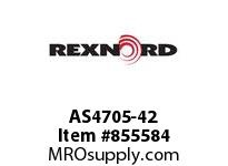 REXNORD AS4705-42 AS4705-42 AS4705 42 INCH WIDE MATTOP CHAIN WI
