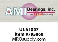 AMI UCSTX07 35MM MEDIUM SET SCREW WIDE SLOT TAK BEARING