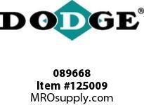 DODGE 089668 HD-500X60-TUFR-SSS