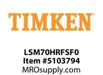 TIMKEN LSM70HRFSF0 Split CRB Housed Unit Component