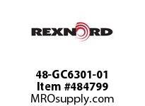 REXNORD 6472561 48-GC6301-01 IDL*35TRGH STL UEQ R/G