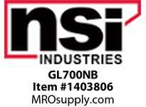 NSI GL700NB 700 MCM CU COMPRESSION LUG1/2 BOLT SIZE BELL END