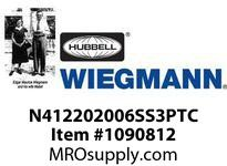 WIEGMANN N412202006SS3PTC N412ULTIMATESDSS20X20X61PT. HANDLE