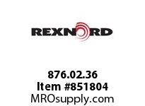 REXNORD 876.02.36 FGP500-630MM XLG 2XPT XLG500 630MM WIDE FLUSH GRID MATTOP