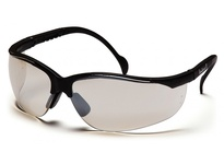 Pyramex SB1880ST Black Frame/Indoor/Outdoor Mirror Anti-Fog Lens