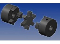 Maska Pulley L050X1/4 BORE: 1/4 COUPLING BASE: 050 BORE: 1/4