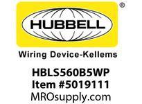 HBL_WDK HBLS560B5WP IECINLT4P5W60A 347/600V4X/IP69PILOT