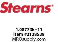 STEARNS 108773201015 BR-CONDUIT BOX&TERM BLOCK 8002716